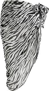 zebra print plus size swimwear