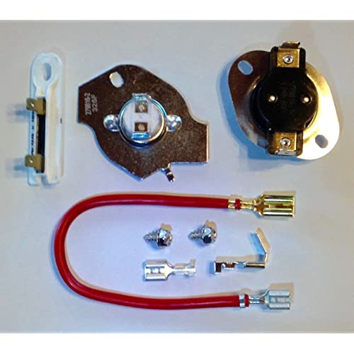 artisan1 279816 3390291 3977393 3392519 dryer thermal cut-out kit -  thermostat and fuses for