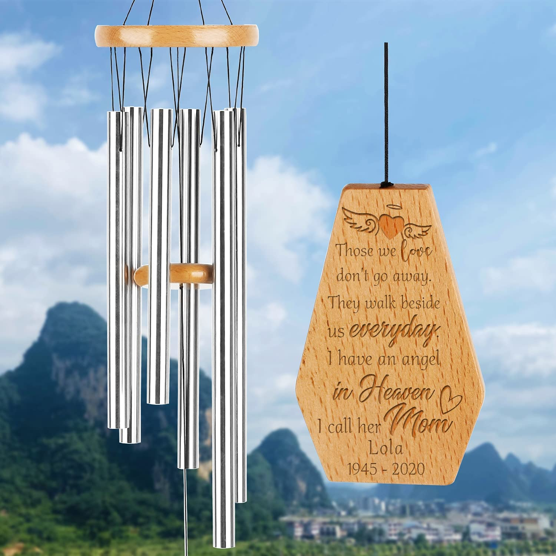 Personalized Wind Chimes Unique Memorial Sympathy SALENEW very Max 57% OFF popular