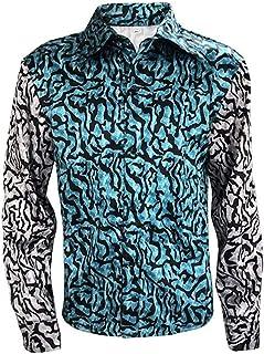 Sponsored Ad - Mens Tiger King Shirt Joe Exotic Button Dress Shirt Slim Style