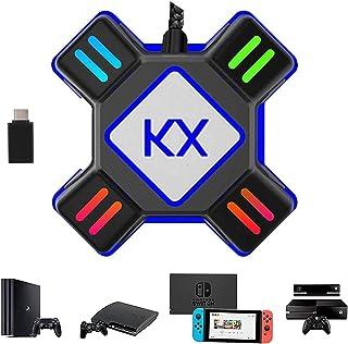 JZW-Shop キーボードマウス接続アダプター 【2020新版】 マウスコンバーター ゲーミングコントローラー変換 遅延なし スイッチ対応 キーボードコンバーター Switch/Xbox/PS4/PS3対応 OTGのアダプター付き