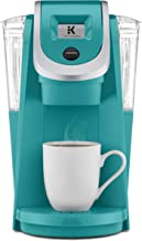 Keurig K200 Coffee Maker, Single Serve K-Cup Pod Coffee Brewer, With Strength Control, Tourquise (Renewed)