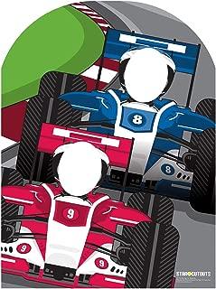 SC716 Racing Car Stand-In Cardboard Cutout Standup