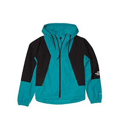 The North Face Peril Wind Jacket (Jaiden Green/TNF Black) Women