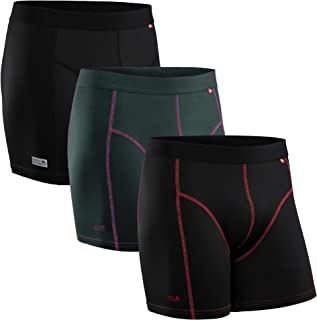 DANISH ENDURANCE Men's Sports Trunks Dry Fit Performance Boxer Brief 3 Pack, Breathable, Soft, Quick Dry, Odor Resistant, ...