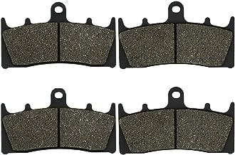 Cyleto Front Brake Pads for Kawasaki VN1500 VN 1500 Vulcan 1500 Mean Streak 2002 2003 2004 / VN1600 VN 1600 Mean Streak 1600 2004