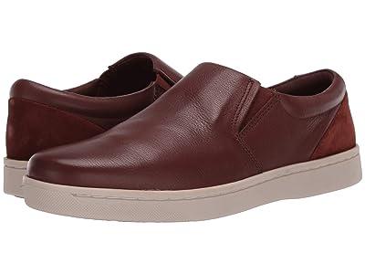 Clarks Kitna Free (Mahogany Leather) Men