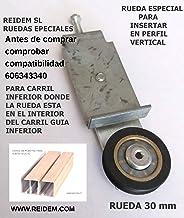 Amazon.es: kit ruedas puerta corredera
