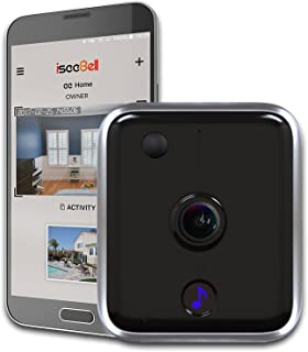 iseeBell Wi-Fi Enabled HD Video Doorbell with Two-way Audio, Night Vision and Smart App Control [Hardwired Version]