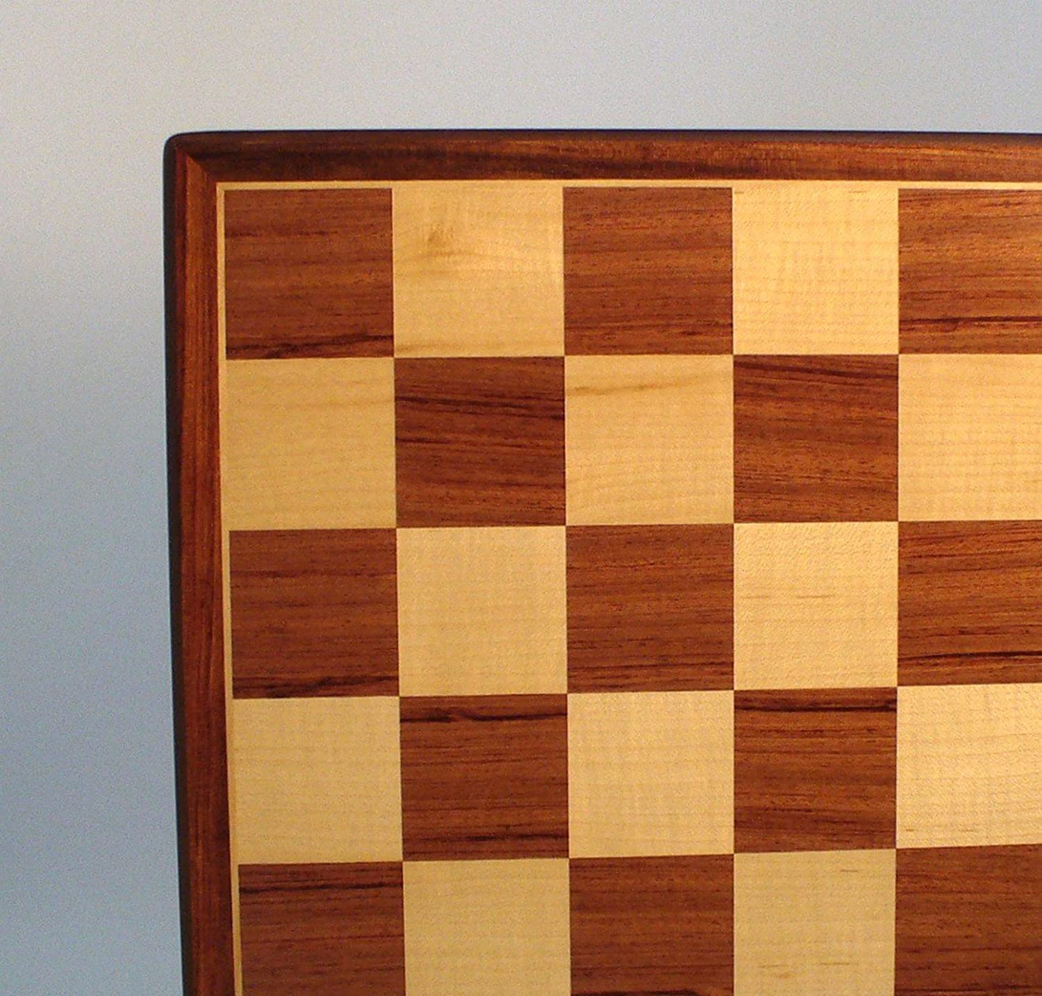 WW Chess 17inch Padauk and Maple Veneer Board