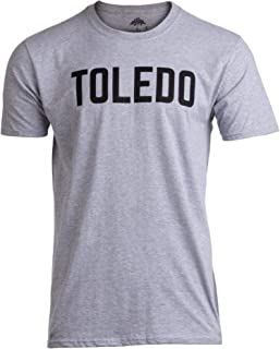 Toledo | Classic Retro City Grey Ohio Maumee Lake Erie Pride Men Women T-Shirt