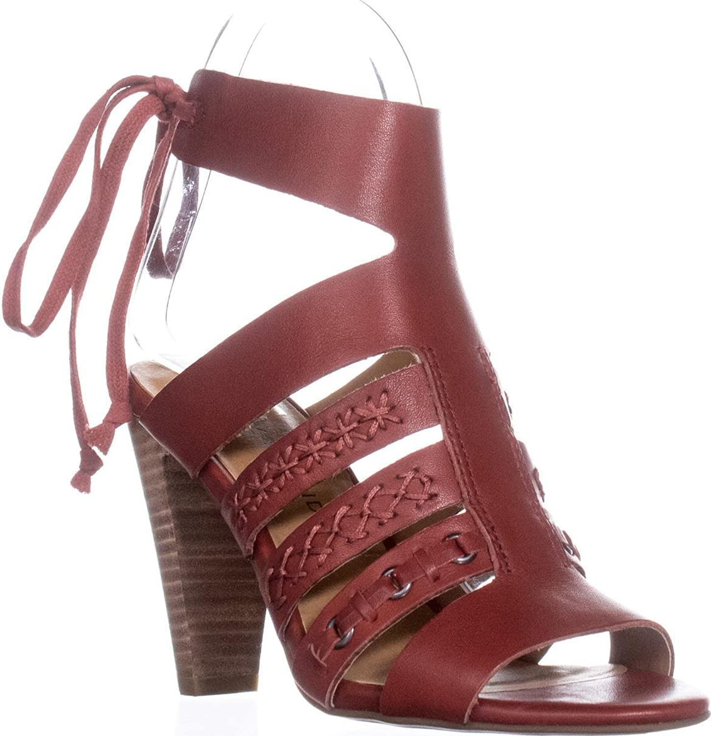 Lucky Brand Radfas Lace-Up Sandals, Picante, 6.5 US   36.5 EU