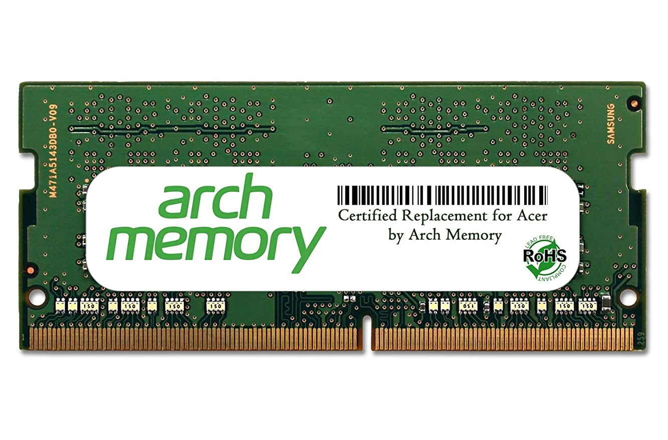 学校教育ネコそれアーチメモリ認定 Acer 4 GB (1 x 4 GB) 260ピン DDR4 So-dimm Aspire ESシリーズモデル DDR4-572-3729 RAM用