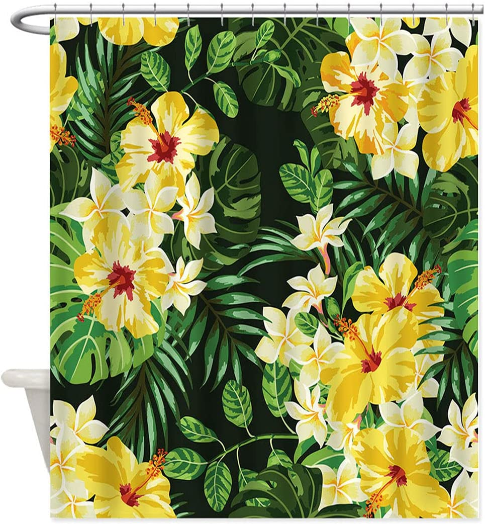 Cozyadecor Floral Bathroom Shower Beauty products E Pattern Curtain with Max 42% OFF