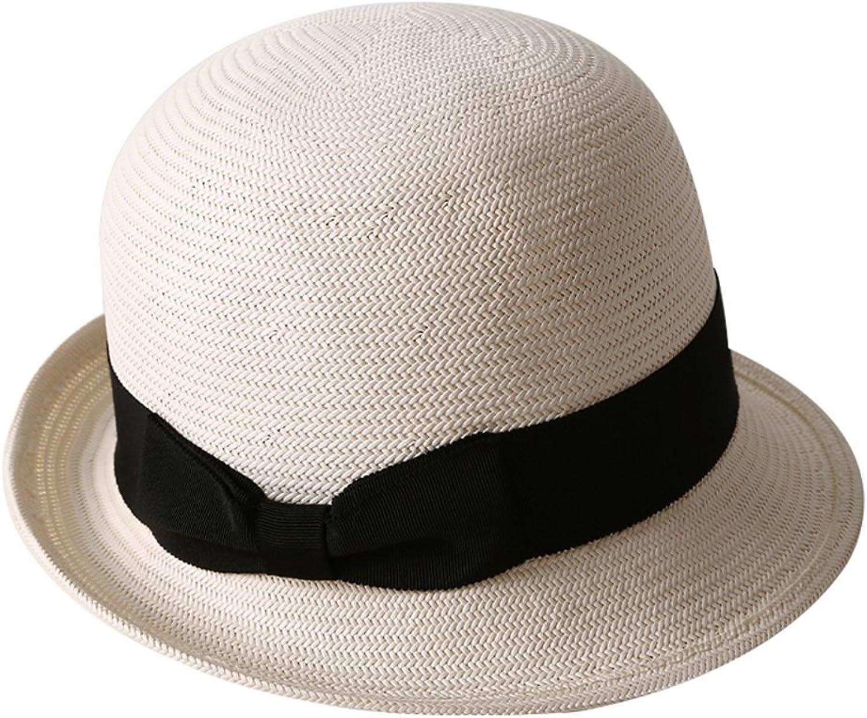 KYWBD Fashion Basin Cap,Dome Curling Bowler Visor Cap