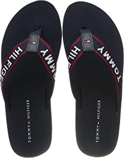 Tommy Hilfiger Sporty Flat Beach Sandal, Chanclas para Mujer