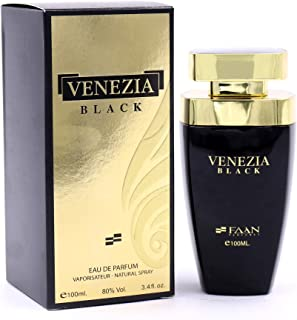 Venezia Black by FAAN - perfume for men - Eau de Parfum - Natural Spray, 100ml