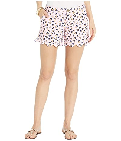 Lilly Pulitzer Buttercup Knit Shorts (Pink Blossom Seeing Spots) Women