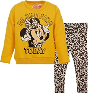 Disney Minnie Mouse Fleece Pullover Sweatshirt and Leggings Set