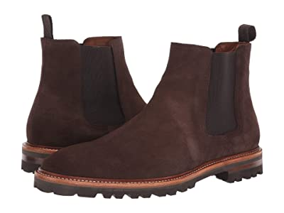 Aquatalia Leighton (Dark Brown Suede) Men