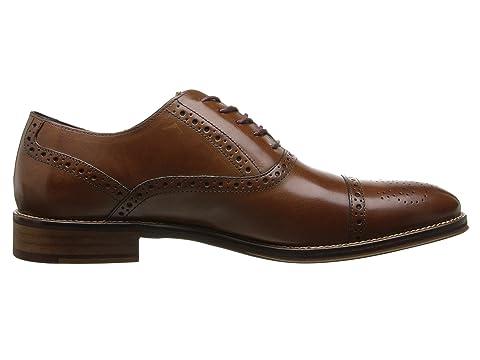 Casquillo Murphy De Italiano Ocasional Calfskintan Becerro Johnston Conard Vestido Toe Oxford Negro qInxfw