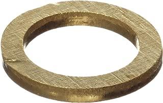 260 Brass Round Shim, Unpolished (Mill) Finish, H02/H04 Temper, ASTM B36, 0.003