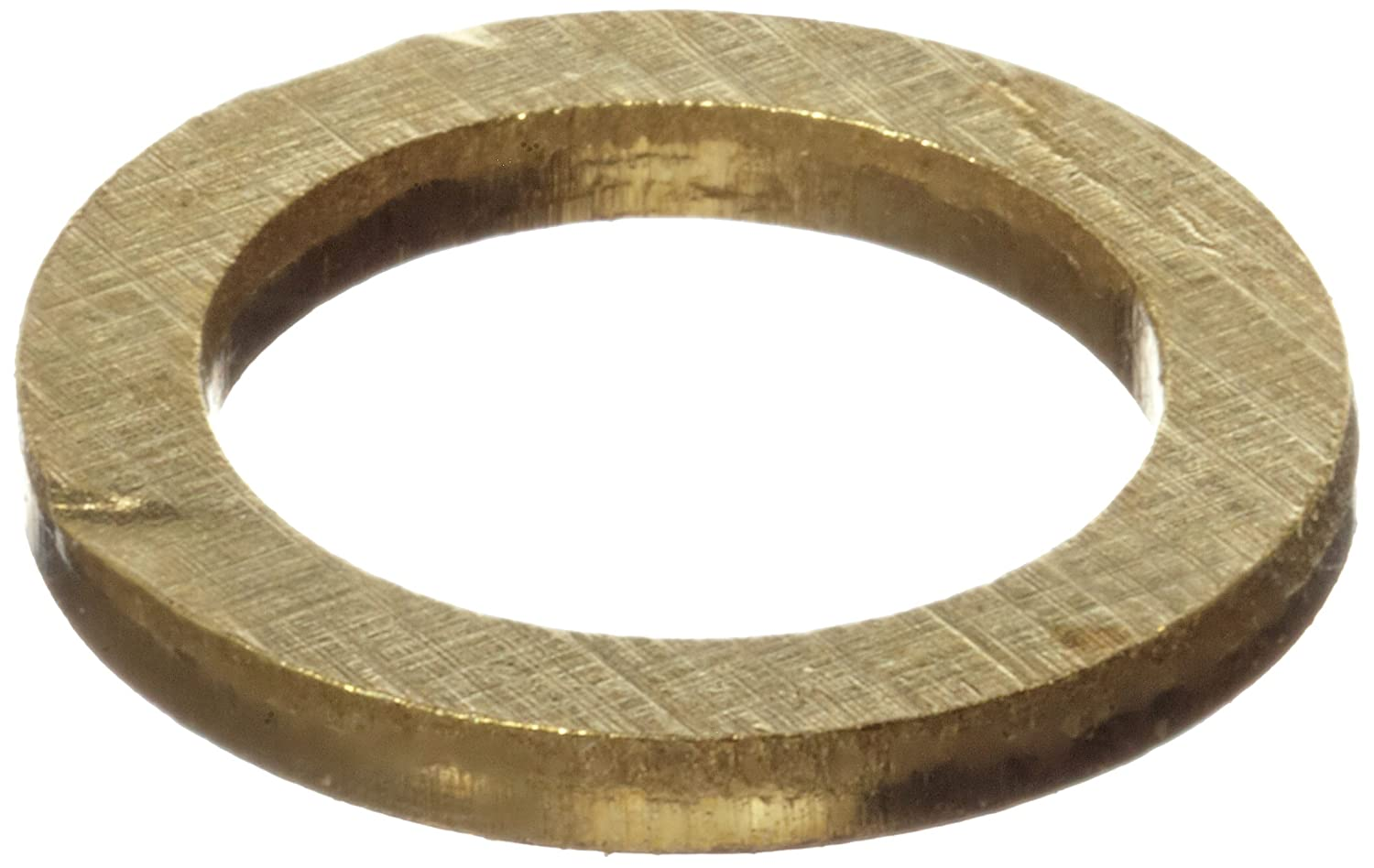 H02//H04 Temper 0.250 ID 0.375 OD 260 Brass Round Shim Finish Unpolished 0.003 Thickness ASTM B36 Pack of 10 Mill