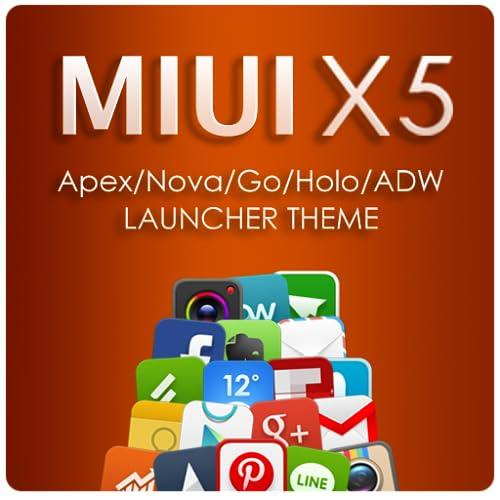MIUI X5 HD Apex/Nova/ADW Theme
