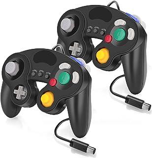 Mando con cable para GameCube Nintendo Switch, 2 unidades de