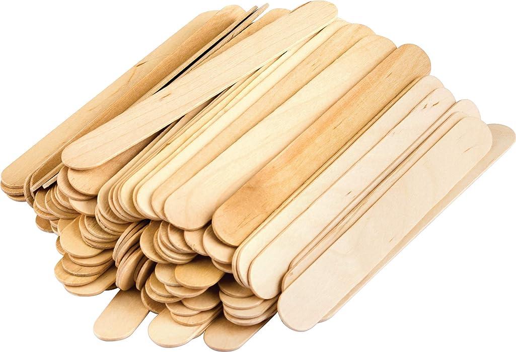 STEM Basics: Jumbo Craft Sticks - 200 Count