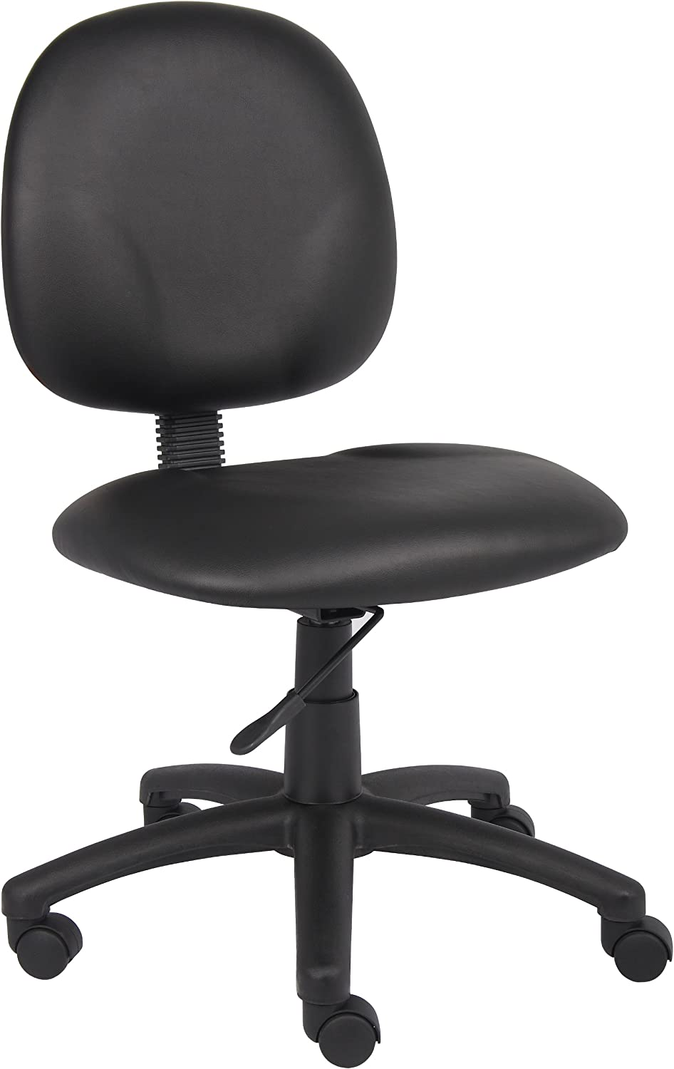 Boss Office Products B9090-CS Dimond Task Chair without Arms in Black