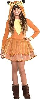 Suit Yourself Furry Fox Halloween Costume for Girls, 8-10 Medium