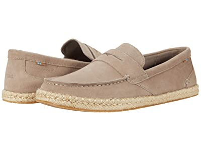 TOMS Stanford Rope (Desert Taupe Suede) Men