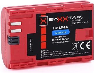 BAXXTAR Pro Energy - Batería de repuestos para Canon LP-E6 (2040mAh)