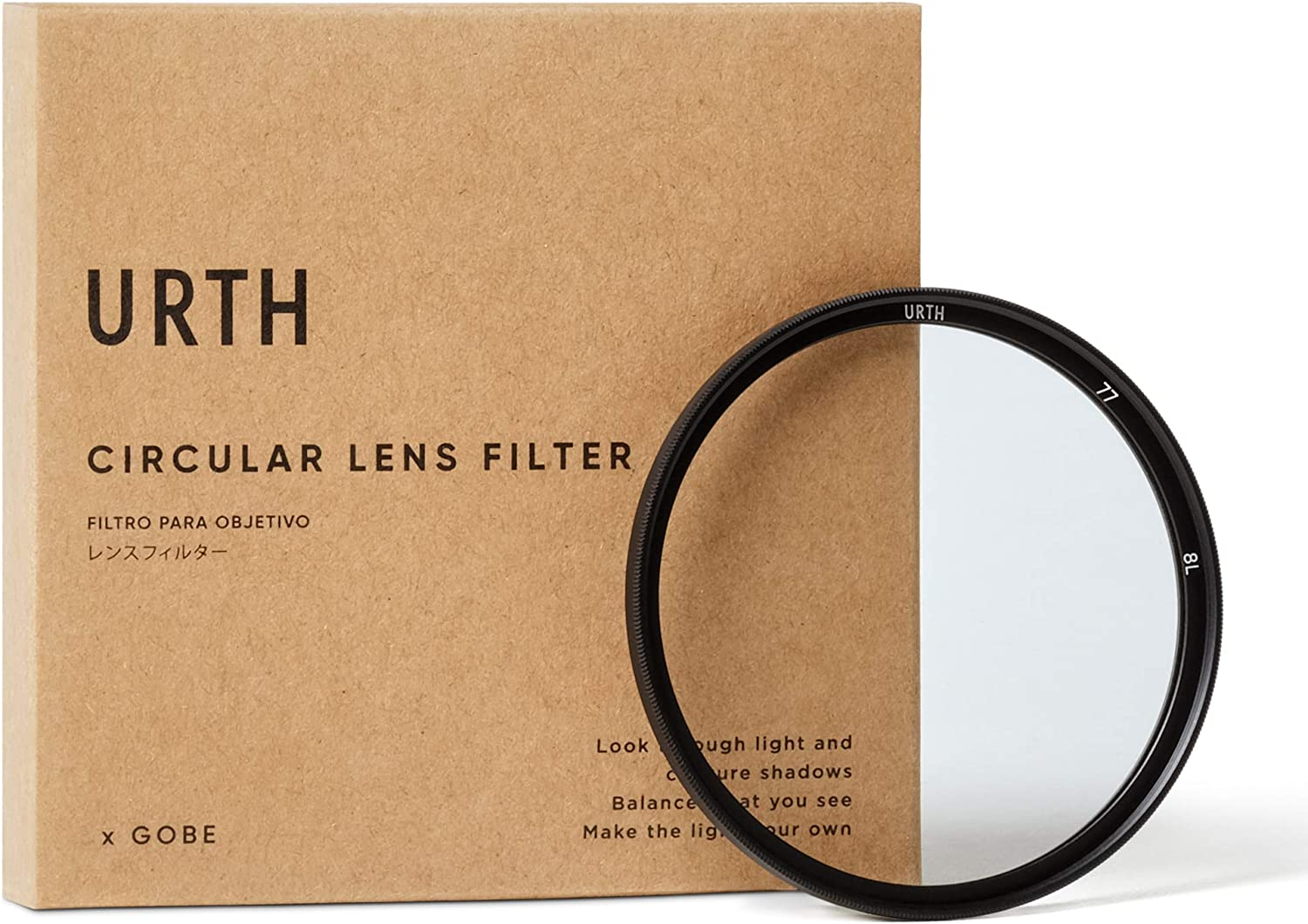 Urth Now free shipping x Popular shop is the lowest price challenge Gobe 77mm Lens Filter UV