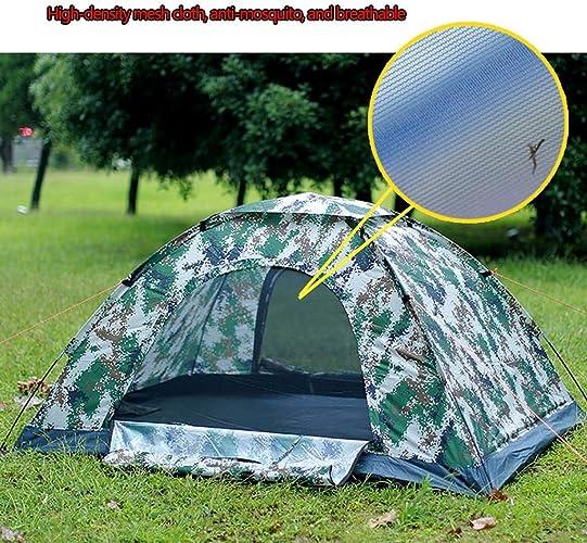 MJY Tente extérieure tente épaississement camouflage tente 2 personnes pratique pour construire tente de camping deux forfaits au choix,Camouflage2,200  145  105cm