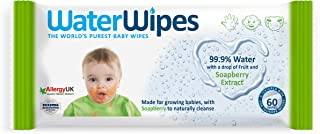 WaterWipes Soapberry, 60 Wipes