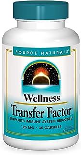 Source Naturals Wellness Transfer Factor 125mg - 30 Capsules