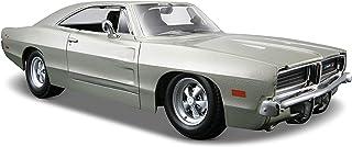 مايستو مجسم سيارة دودج تشارجر ار تي 1969 ,فضي ,090159312567