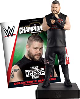 Hero Collector WWE Championship Collection   Kevin Owens with Magazine Issue 20 by Eaglemoss