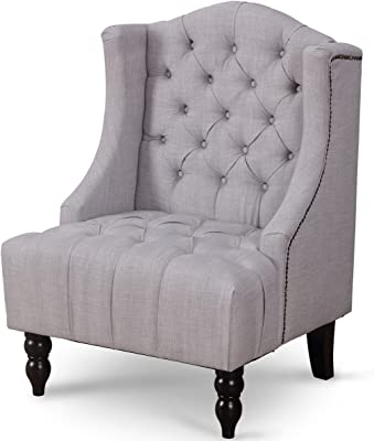 Amazon.com: Hebel Upholstered Elegant Classic Stylish Button ...