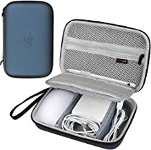 Comecase Hard Case for Apple Pencil, Magic Mouse, Magsafe Power Adapter, Magnetic Charging Cable
