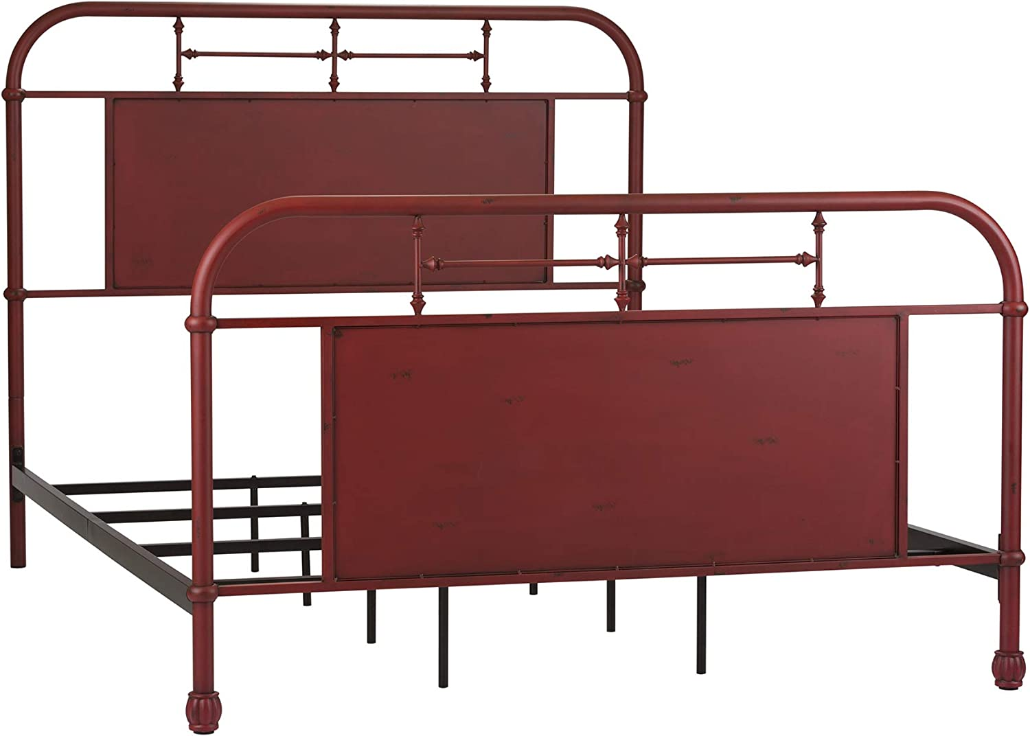 Liberty Furniture Industries Vintage Sacramento Mall Series Queen Bu outlet Metal Bed