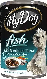 MY DOG Sardine & Tuna Dog Wet Food 400g