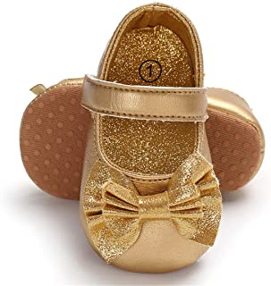 Amazon.com: Baby Girls' Shoes - Gold