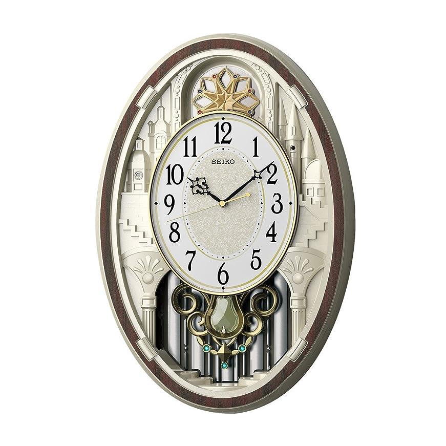 ロードハウスマオリしてはいけませんセイコー クロック 掛け時計 電波アミューズ時計 トリプルセレクション AM255B SEIKO