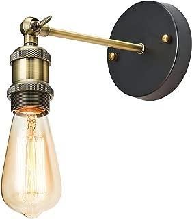 Home Luminaire 31680 Rushford Wall Sconce, 1-Light, Antique Brass Finish
