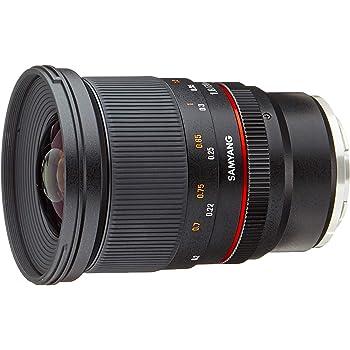 Samyang 20 mm F1.8 Manual Focus Lens for Sony FE Camera - Black