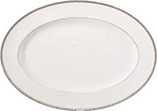 Noritake Rochelle Platinum 16-Inch Oval Platter