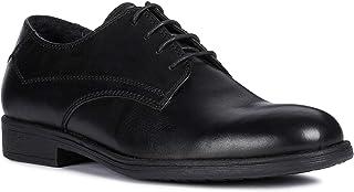 Geox Men's Man Jaylon 41 Classic Leather Dress Shoe, Blk, Black Oxford, 42 M EU (9 US)